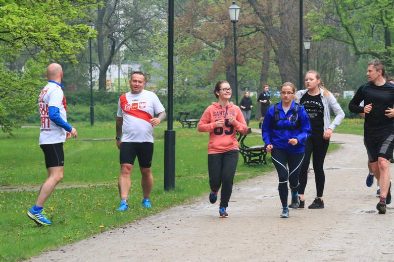Parkrun Łódź w Parku Poniatowskiego - 6 maja 2017 r. [ZDJĘCIA, FILM]