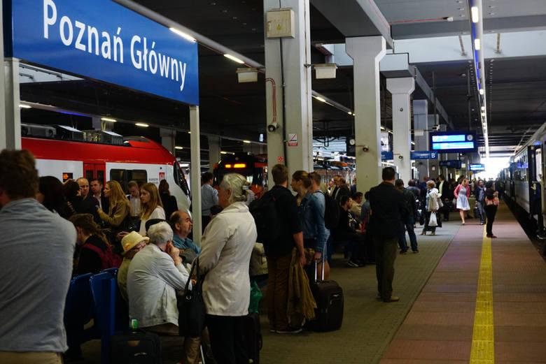 Z powodu usterki ruch pociągów był wstrzymany przez ponad godzinę.
