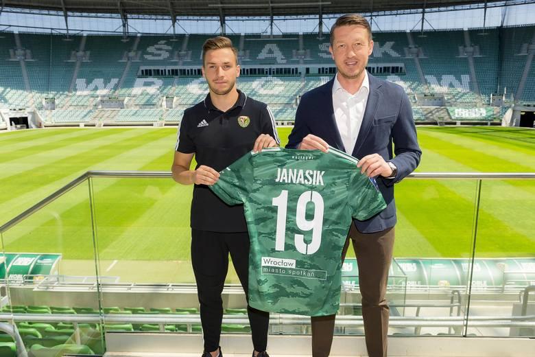 Patryk Janasik w barwach Śląska Wrocław