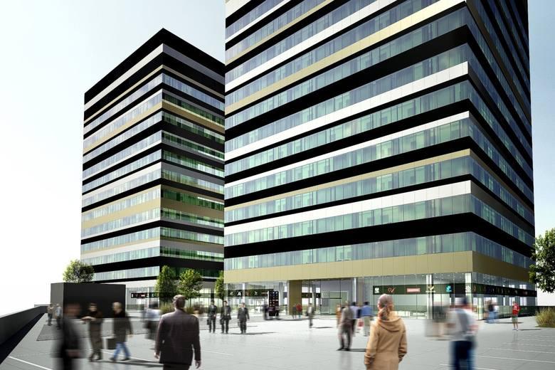 Kompleks Silesia Business Park, Katowice. To kompleks biurowców na działce po hucie Baildon. Pierwszy jest gotowy, zatem otwarcie może nastąpić na początku