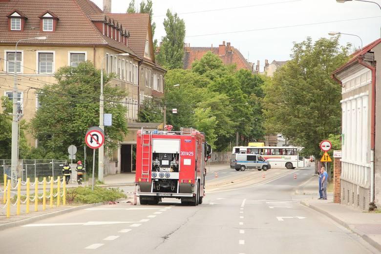 Uszkodzony gazociąg w Gorzowie. Potrzebna była ewakuacja.