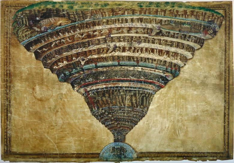 RenesansZa wykładnię grzechów i kar za nie przewidzianych w renesansie uznawana jest Boska Komedia Dantego Alighieri (1472 r.).Dzieło opisuje m.in. 9