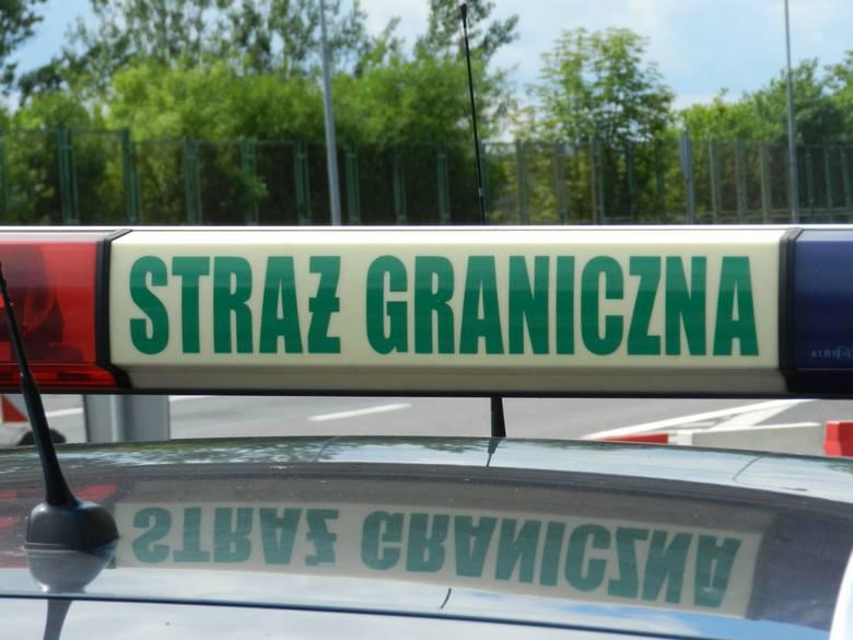 ZIELONA GÓRA/GORZÓW WLKP. Strażnicy graniczni zatrzymali trzy poszukiwane osoby