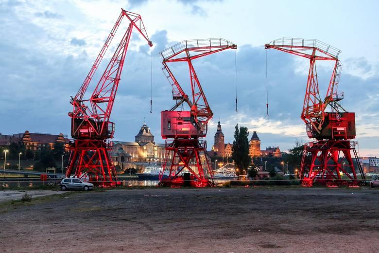 Zabytkowe, szczecińskie dźwigi zostaną wyremontowane [zdjęcia]