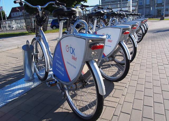 Rekordowy sezon rowerowy w Kędzierzynie-Koźlu. Mieszkańcy 19 tysięcy razy wypożyczali jednoślady