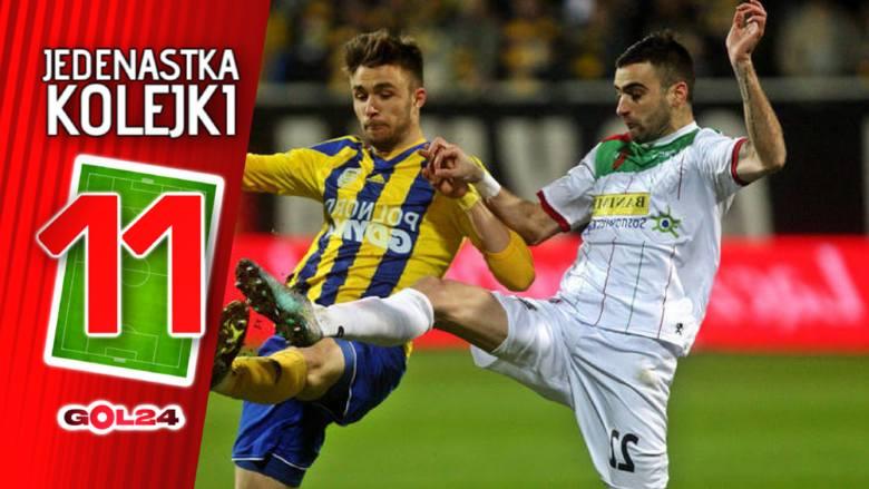 Upały w całej Polsce sprawiły, że zawodnicy Ekstraklasy grali w miniony weekend nieco ospale. Próżno było szukać świetnych widowisk, ale nie możemy też