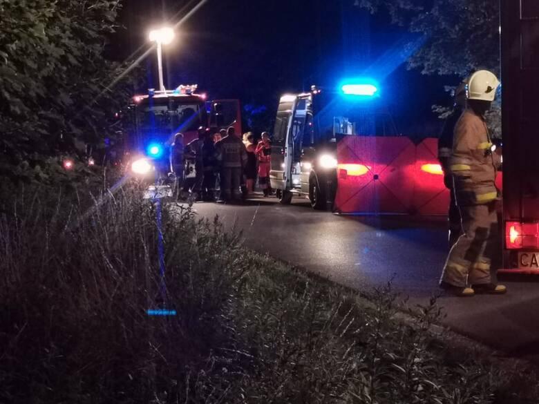 Przed 23 dotarły do nas tragiczne informacje z miejscowości Sierzchowo w gminie Waganiec.