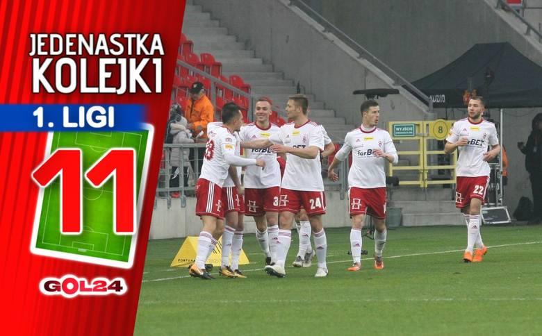 Ścisk na dole tabeli. Jedenastka 28. kolejki Fortuna 1 Ligi według GOL24!