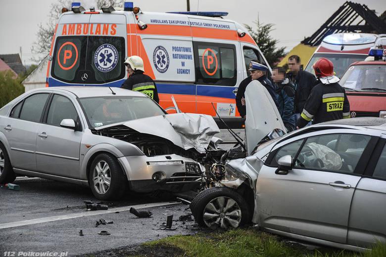 Prokurator z Nowej Soli spowodował wypadek pod Polkowicami. Był pijany
