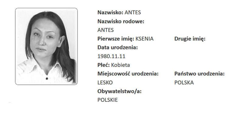 Ksenia Antes z Leska