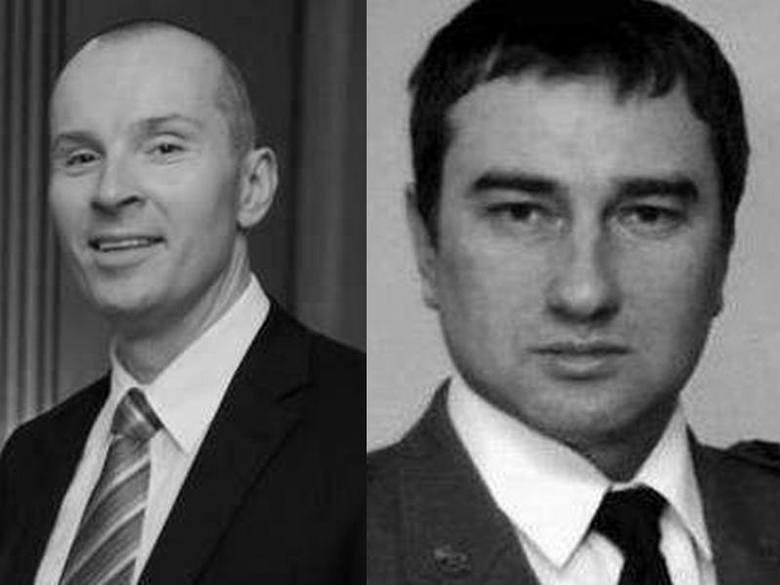 Aleksander Fedorowicz i Marek Uleryk zginęli 10 kwietnia 2010 roku w katastrofie pod Smoleńskiem