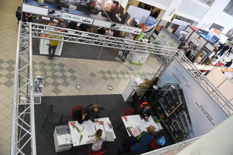 W weekend w Centrum Targowym Park w Toruniu odbywały się targi budownictwa