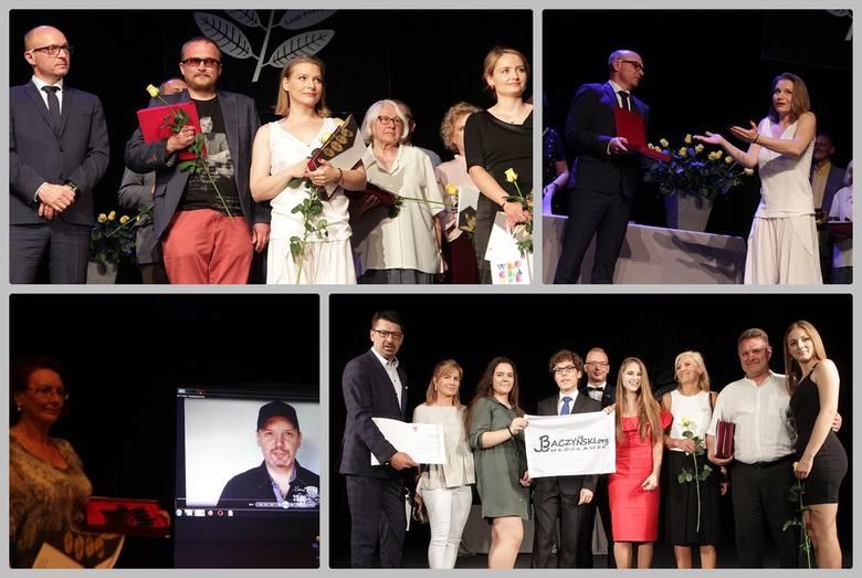Twórcy kultury, animatorzy i mecenasi odebrali w środę nagrody z rąk Marka Wojtkowskiego, prezydenta Włocławka. Święto Kultury 2018 odbyła się w Teatrze