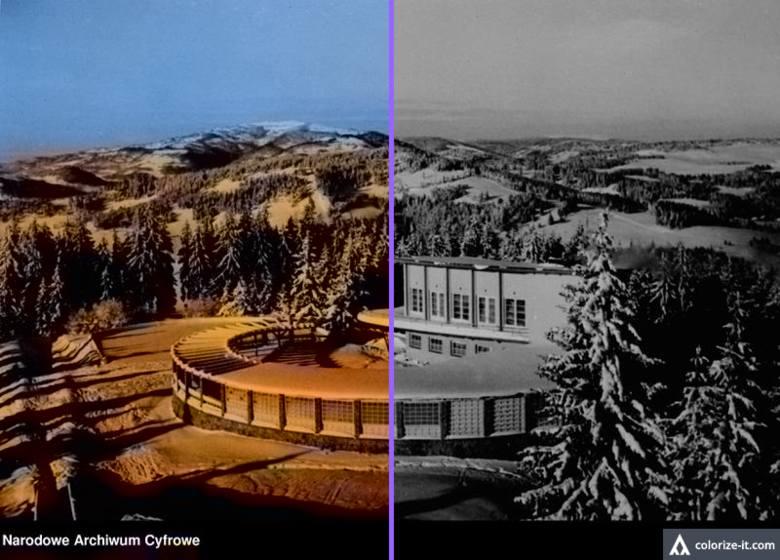 Krynica. Kolejka na Górę Parkową wczoraj i dziś. Zobacz jak się zmieniła, a jak będzie wyglądać wkrótce [ZDJĘCIA] 25.02.2021