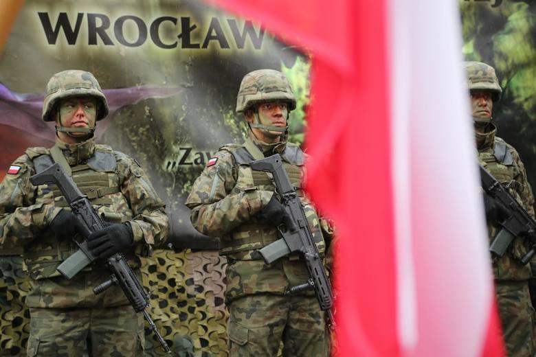 Przysięga Wojsk Obrony Terytorialnej we Wrocławiu - 23 lutego 2020