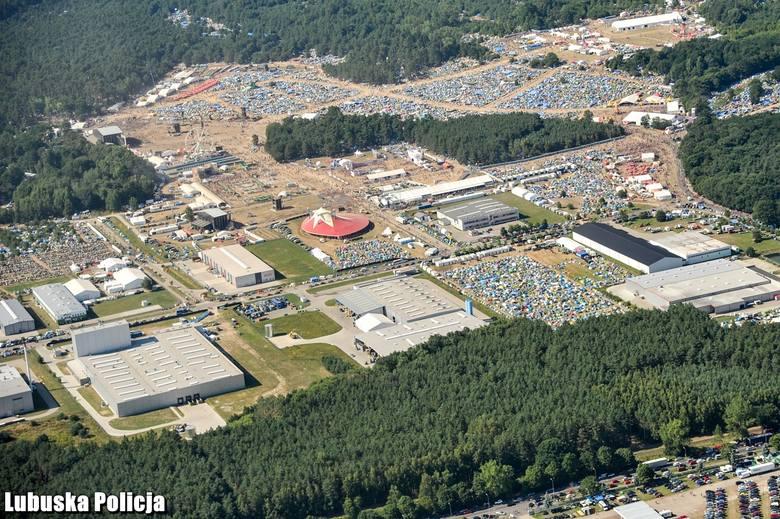 Pol'and'Rock Festiwal to ogromne przedsięwzięcie logistyczne.