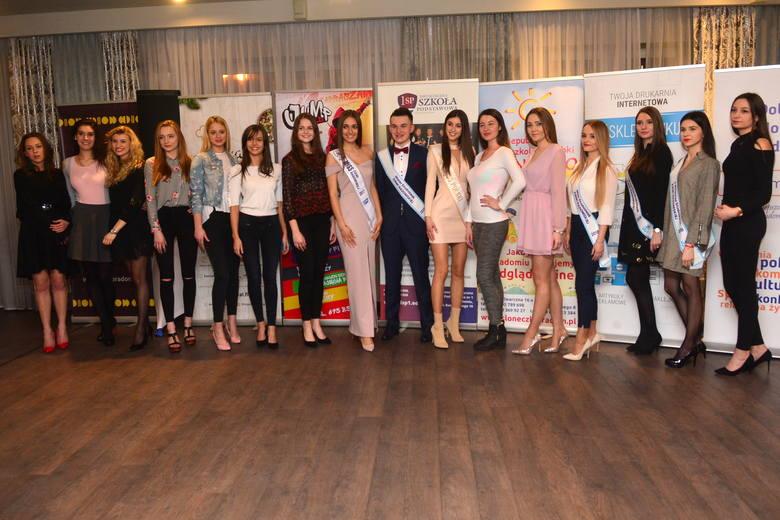 Casting do Miss Ziemi Radomskiej 2018. Tak prezentowały się kandydatki do korony.
