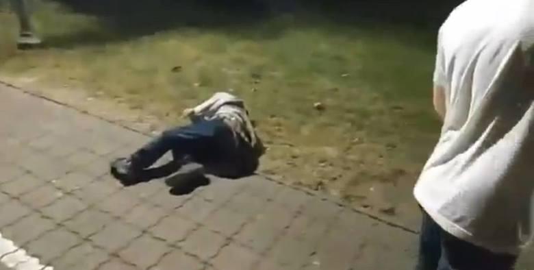 Przemoc na Olszynkach w Rzeszowie. Youtuber będzie tłumaczył się policji