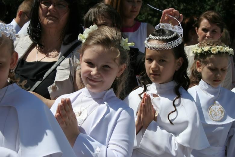 Komunia św. w Klasztorze
