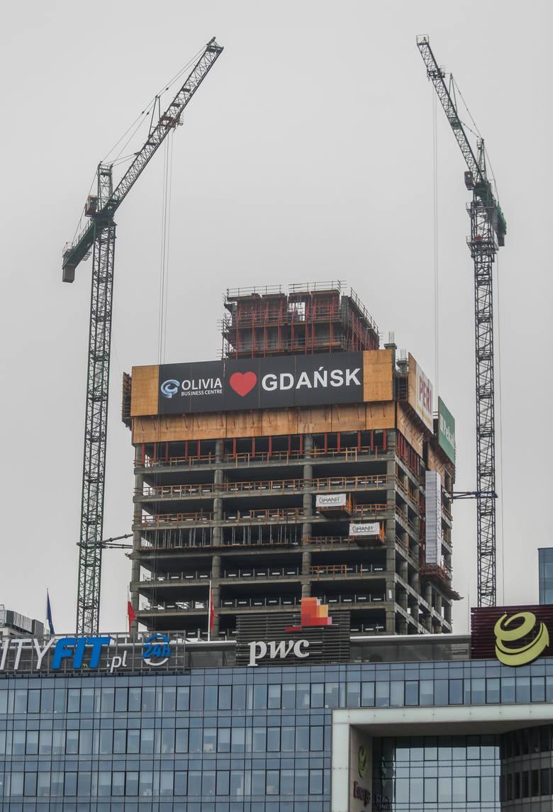 22.10.2016 gdansk , hala olivia<br /> olivia business center - trwa budowa najwyzszego biurowca w polsce polnocnej olivia star<br /> <br /> fot. karolina misztal/polska press<br /> dziennik baltycki