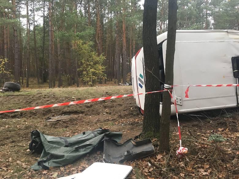 Wypadek w Żeraniu Małym, 27.10.2019
