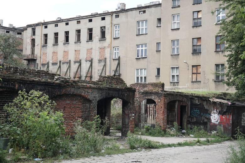 Ulica Włókiennicza w Łodzi.