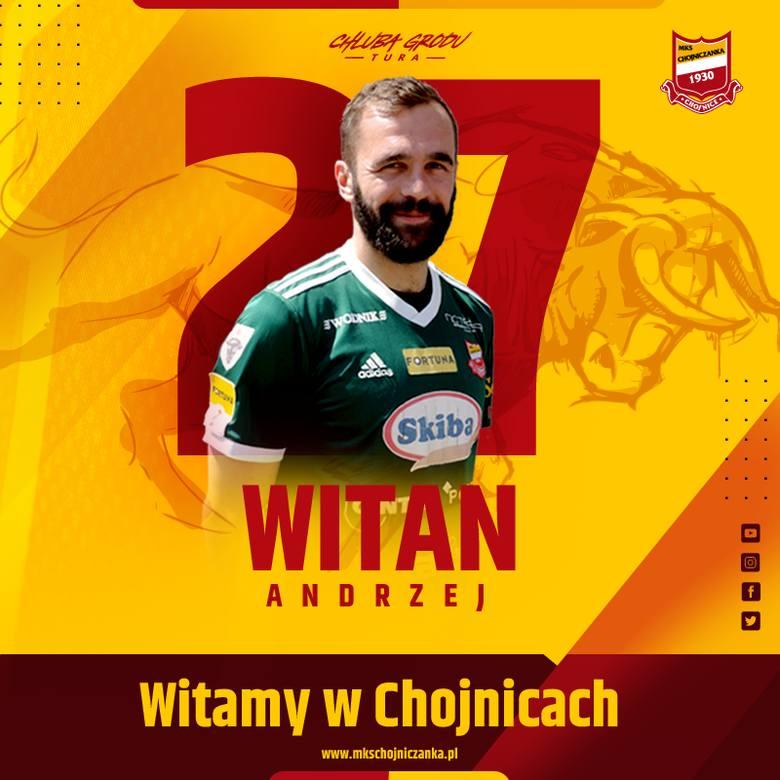 Andrzej Witan postanowił zostać w 1 lidze