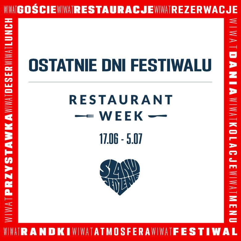Restaurant Week jeszcze tylko do niedzieli. Zobacz, gdzie wybrać się w Lublinie