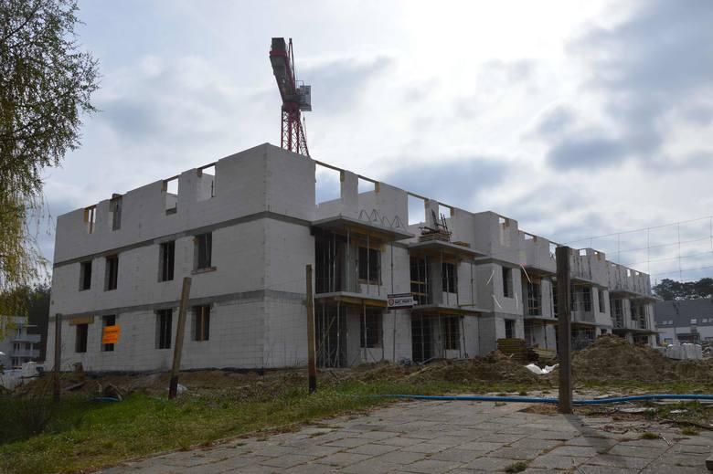 Teren budowy osiedla Silesia.