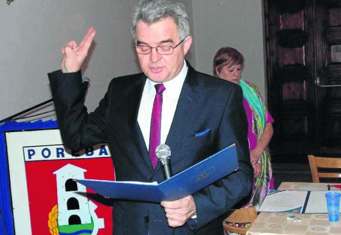 """W kategorii """"burmistrzowie"""" prowadzi Ryszard Spyra, burmistrz Poręby"""