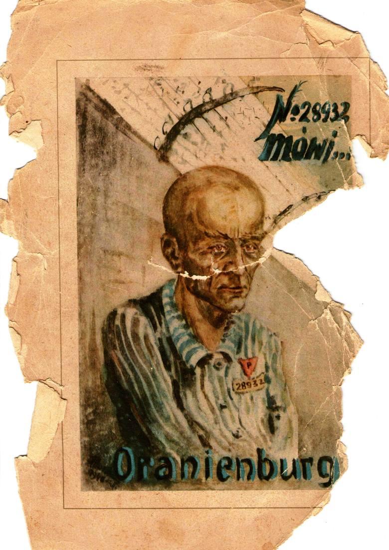 Obozowy autoportret Stefana Horskiego
