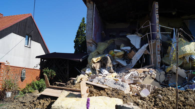 Katastrofa w Dębieńsku! Runął prawie cały dom