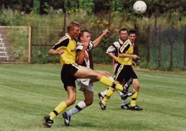 Sierpień 2001, IV liga: Garbarnia - Unia Oświęcim (1:0)