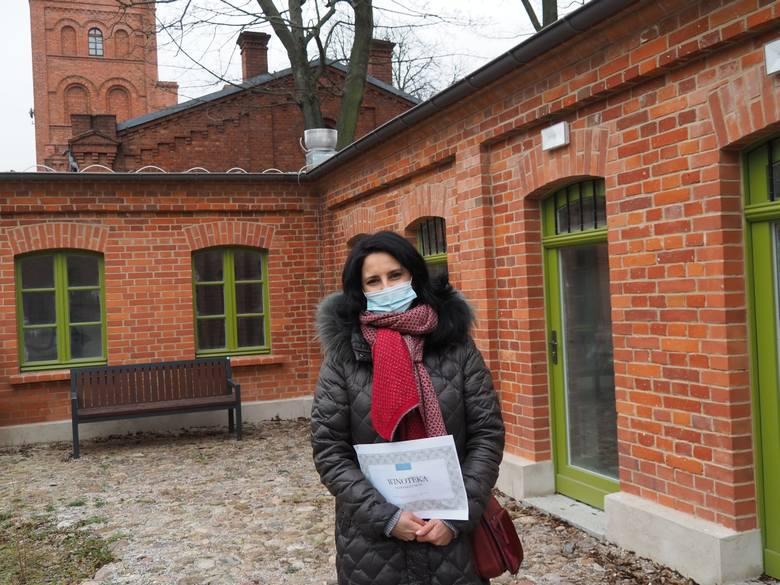 Winotekę Klub Księży Młyn poprowadzi Dorota Dąbrowska. Ma sporo  pomysłów na ofertę lokalu, także dla sąsiadów z osiedla.