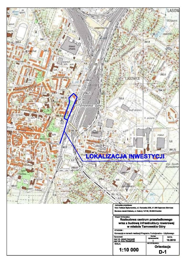 Centrum przesiadkowe i nowe trasy rowerowe w Tarnowskich Górach