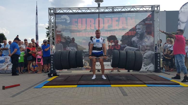 Zawody strongman w kat. 105 kg w Jelczu-Laskowicach - 15 sierpnia 2019 roku