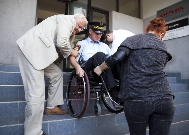 Miasto z perspektywy osoby niepełnosprawnej (zdjęcia)