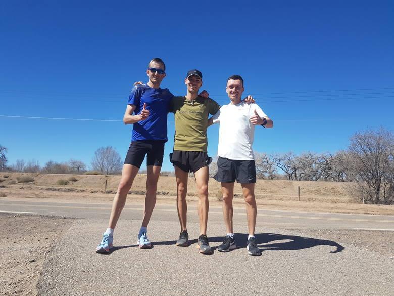 Nasz mistrz Polski w maratonie trenował nad Rio Grande (ZDJĘCIA)