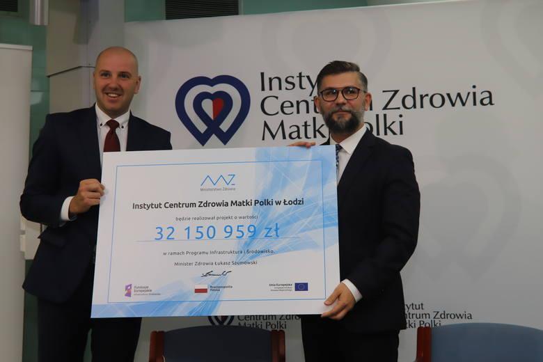 Od lewej: Sławomir Gadomski, wiceminister zdrowia, oraz prof. Maciej Banach, dyrektor ICZMP