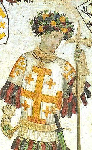 Gotfryd de Boullion - książę Lotaryngii i pierwszy Obrońca Grobu Świętego