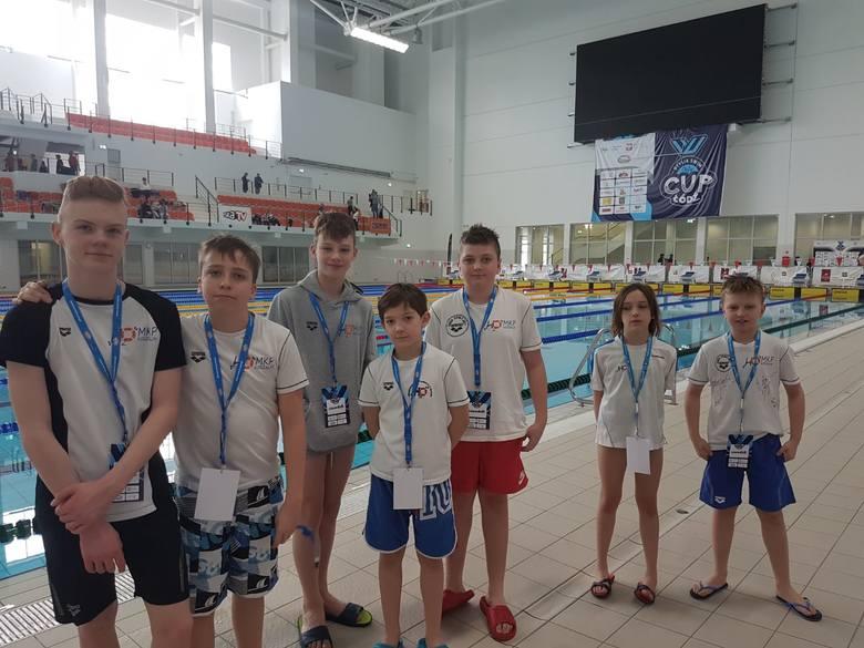 Młodzi pływacy z Koszalina wrócili z Łodzi z medalami