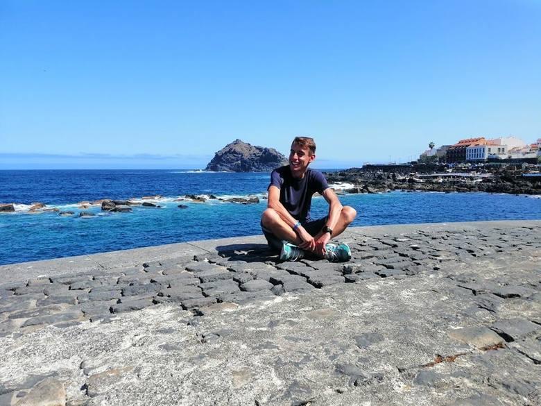 Wakacje naszego znanego biegacza na Teneryfie. Sylwester Lepiarz poświęcił ten czas na zwiedzanie, odpoczynek i...treningi [ZDJĘCIA]