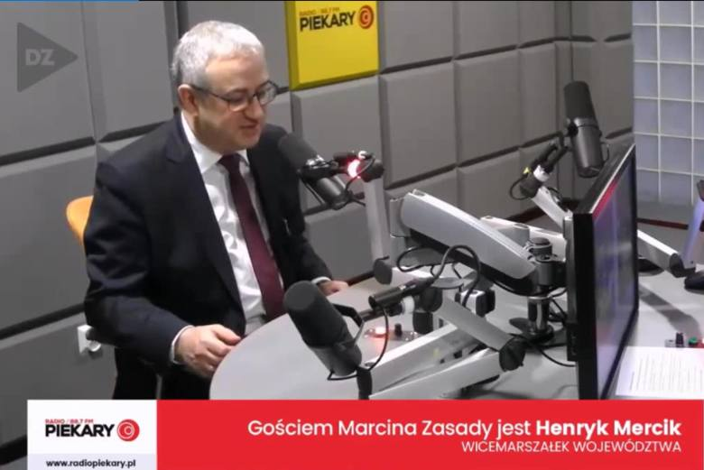 Dziś Gościem Dnia DZ i Radia Piekary był Henryk Mercik, wicemarszałek województwa śląskiego