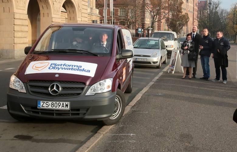Sejmikobus będzie odwiedzał miasta regionu do końca kampanii wyborczej.