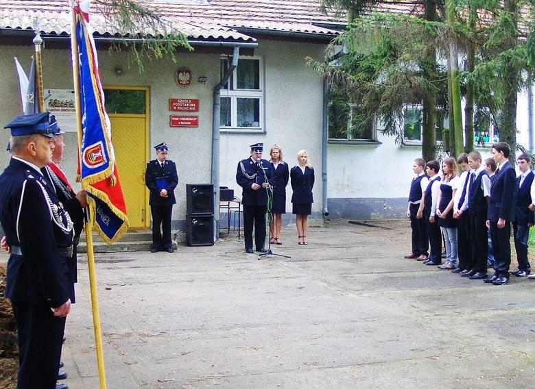 Druhowie byli przy narodzinach szkoły społecznej w Rachcinie.