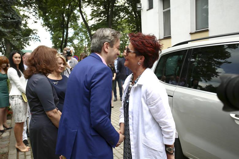 Fundacja Jolanty Kwaśniewskiej odnowiła stołówkę w Słupsku.