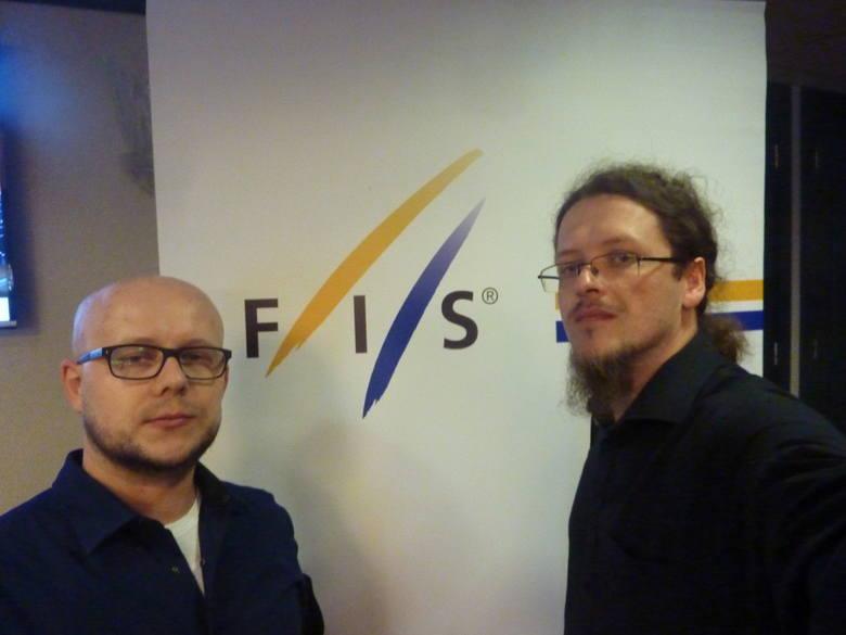 Przemysław Gawęda i Marcin Sajdak na kongresie Międzynarodowej Federacji Narciarskiej<br />