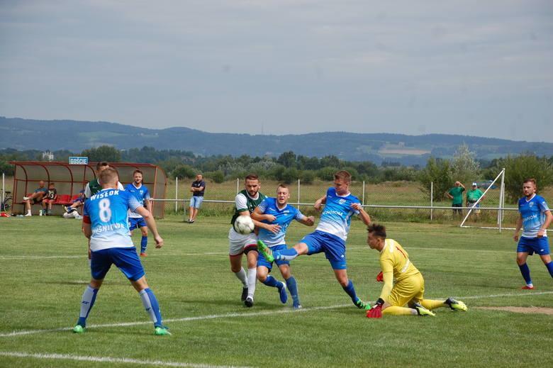 Najwyższe zwycięstwo odnieśli piłkarze Wisłoka Wiśniowa, którzy pokonali Legion Pilzno 5:1