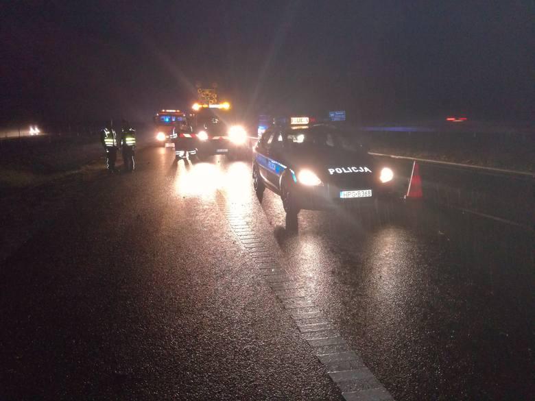 W ubiegłotygodniowym wypadku na feralnym odcinku A4 ucierpiały trzy osoby, w tym dwóch funkcjonariuszy drogówki