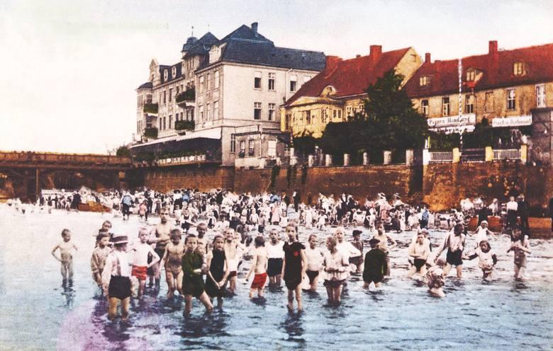 Wyspa teatralna, Wzgórza Gubińskie, kąpielisko przy moście na Nysie Łużyckiej ... i wiele innych miejsc, które wyglądają dziś inaczej. Warto pospacerować